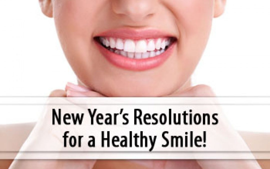 Dental New Year Resolutions for 2017