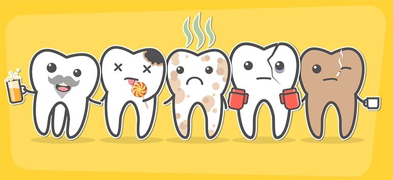 Friends and enemies for your teeth